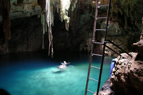 The second cenote